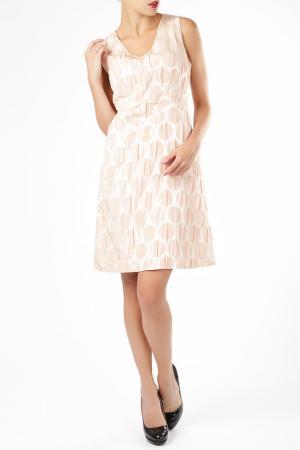 Платье ELLEN EISEMANN. Цвет: розовый