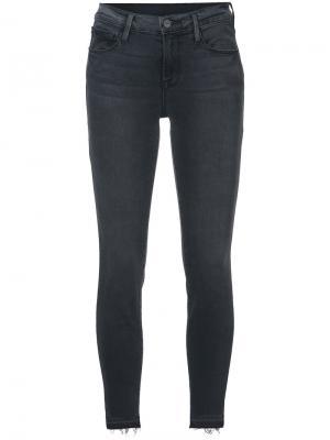 Облегающие джинсы Frame Denim. Цвет: серый