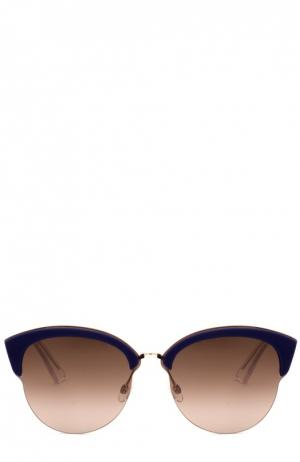 Солнцезащитные очки Dior. Цвет: коричневый