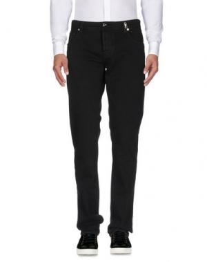 Повседневные брюки TRAMAROSSA. Цвет: черный