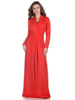 Платье OLIVEGREY. Цвет: красный