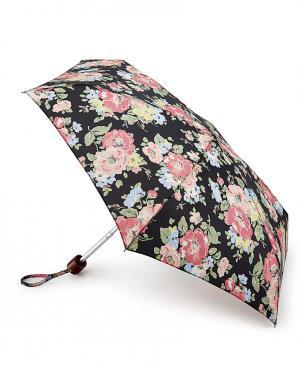 Зонт механический Цветы  by Fulton Cath Kidston. Цвет: черный