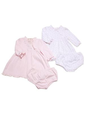 Комплект из 2-х платьев Розовое сердце Little Me