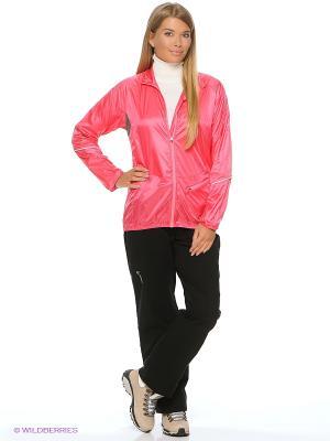 Куртка WS Ultralight Loeffler. Цвет: сливовый