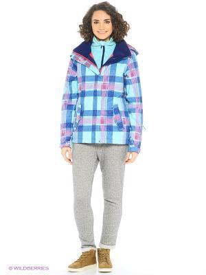 Куртка ROXY. Цвет: голубой