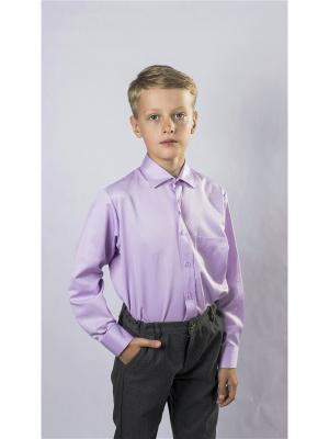 Рубашка OZORNIK. Цвет: сиреневый