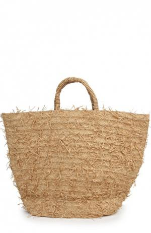 Пляжная сумка Sans-Arcidet. Цвет: темно-бежевый