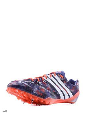 Кроссовки Adidas. Цвет: сиреневый