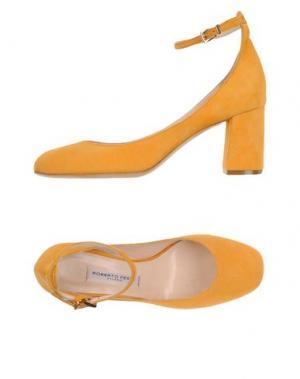 Туфли ROBERTO FESTA. Цвет: оранжевый