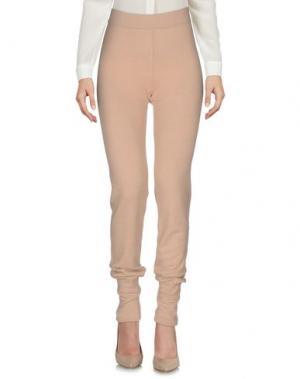 Повседневные брюки SAVERIO PALATELLA. Цвет: песочный