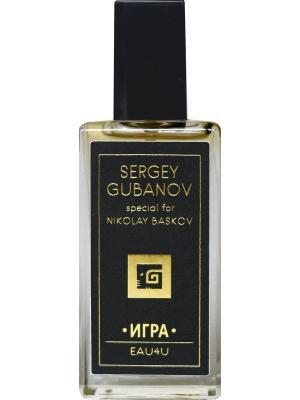 Парфюм special for Nikolay Baskov Игра 013, 30 мл Sergey Gubanov. Цвет: серый