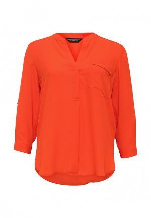 Блуза Dorothy Perkins. Цвет: оранжевый