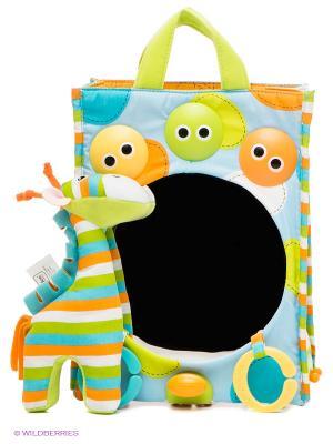 Сумочка Зеркало Yookidoo. Цвет: голубой, оранжевый, салатовый