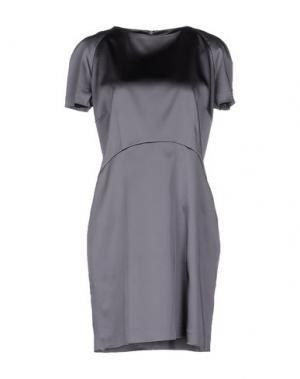 Короткое платье GOOD ON HEELS. Цвет: свинцово-серый