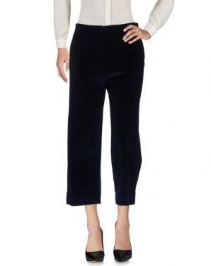 Повседневные брюки OTTOD'AME. Цвет: темно-синий