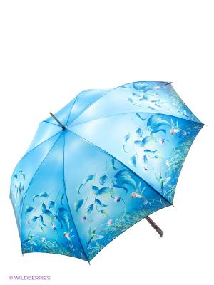 Зонт трость RAINDROPS. Цвет: синий