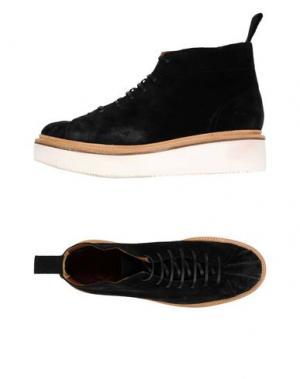 Высокие кеды и кроссовки GRENSON. Цвет: черный