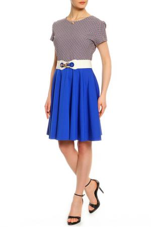 Платье Asil. Цвет: синий