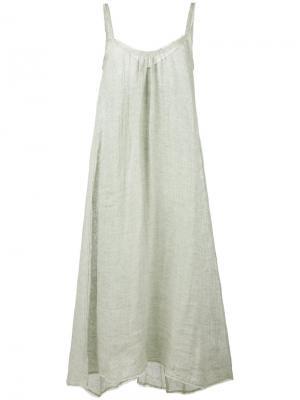 A-line maxi dress Forte. Цвет: зелёный