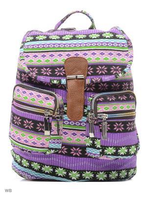 Рюкзак Punta. Цвет: бирюзовый