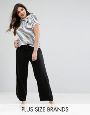 Yours Пижамные штаны Clothing. Цвет: черный