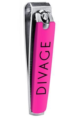 Мини щипчики для маникюра Divage. Цвет: розовый