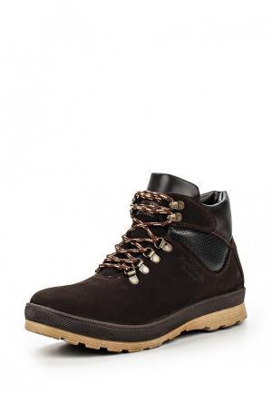 Ботинки трекинговые Bekerandmiller. Цвет: коричневый