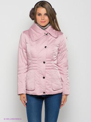 Куртка Finn Flare. Цвет: бледно-розовый