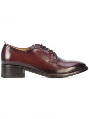 Lace up Oxford shoes Officine Creative. Цвет: коричневый
