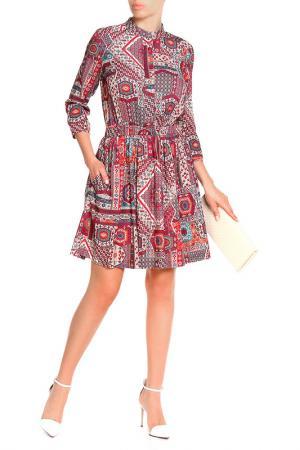 Платье Pure. Цвет: фуксия