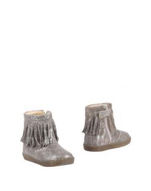 Полусапоги и высокие ботинки FALCOTTO. Цвет: хаки