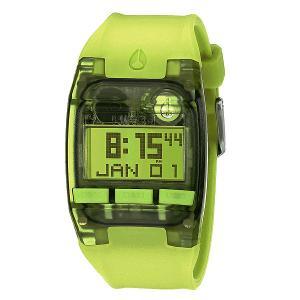 Часы  Comp S All Neon Green Nixon. Цвет: зеленый