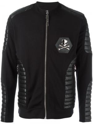 Куртка-бомбер Purple Philipp Plein. Цвет: чёрный