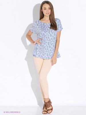 Блузка Up Girl. Цвет: голубой