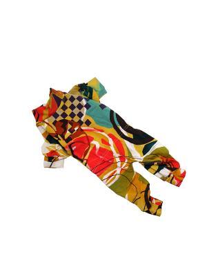 Трикотаж Летний (унисекс) Yoriki. Цвет: желтый