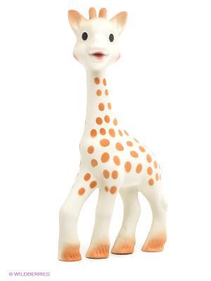 Игрушка каучук Жирафик Софи большой Sophie la girafe. Цвет: молочный