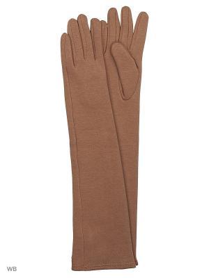 Перчатки Palantini. Цвет: бежевый