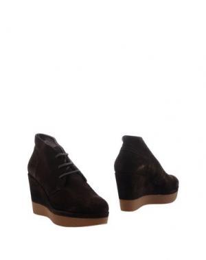 Ботинки JANET SPORT. Цвет: темно-коричневый
