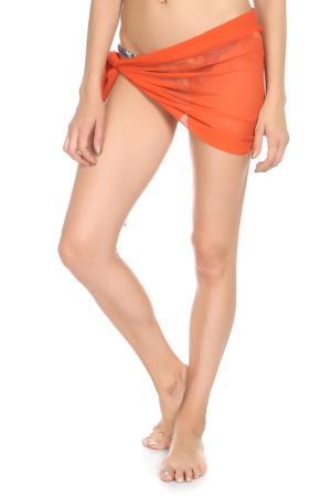 Парео Nicole Olivier. Цвет: оранжевый(082)