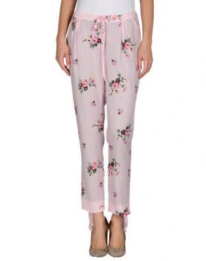 Повседневные брюки GIRL BY BAND OF OUTSIDERS. Цвет: розовый