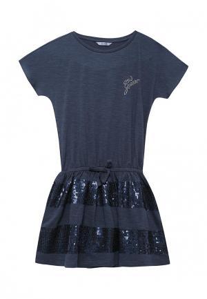 Платье Guess. Цвет: синий