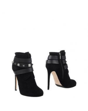 Полусапоги и высокие ботинки ENIO SILLA for LE. Цвет: черный