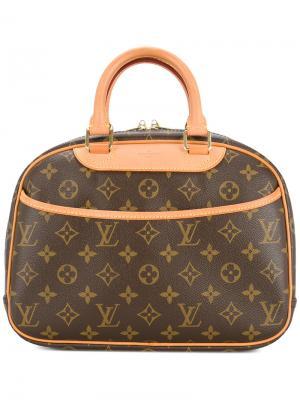 Сумка-тоут Trouville Louis Vuitton Vintage. Цвет: коричневый