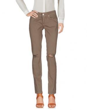Повседневные брюки UFFICIO 87. Цвет: хаки