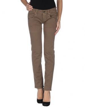 Джинсовые брюки RA-RE. Цвет: хаки