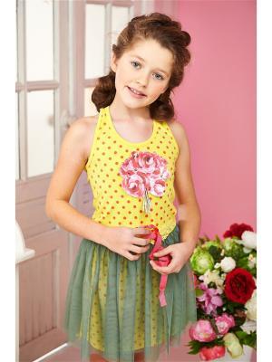 Комплект одежды I love to dream. Цвет: желтый