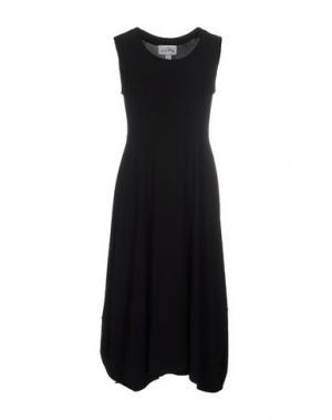 Платье длиной 3/4 JOSEPH RIBKOFF. Цвет: черный