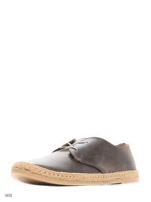 Ботинки Inblu. Цвет: коричневый