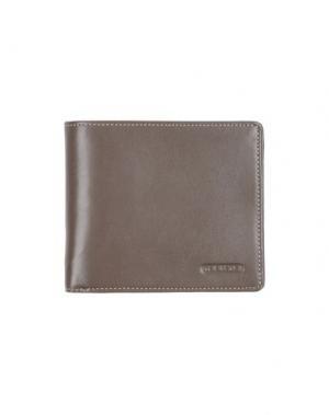 Бумажник GIUDI. Цвет: серый