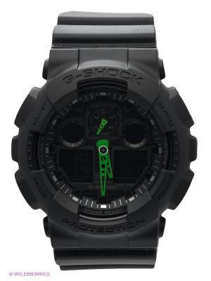 Часы G-SHOCK GA-100C-1A3 CASIO. Цвет: черный